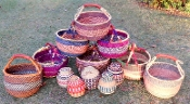 Market Baskets/Large Round
