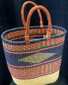 Double Handle Grass Basket