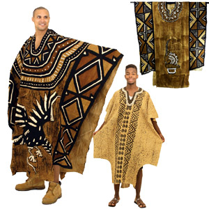Grand Bubu Mudcloth Robe